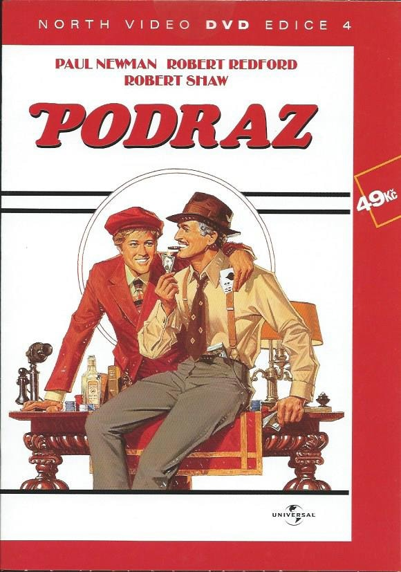 DVD Podraz (Paul Newman)
