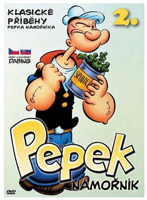 DVD Pepek námořník - Klasické příběhy 2