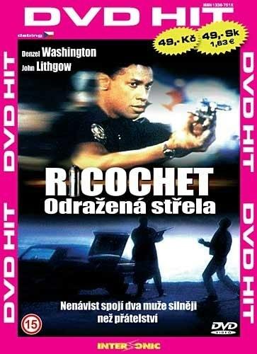 DVD Ricochet: Odražená střela
