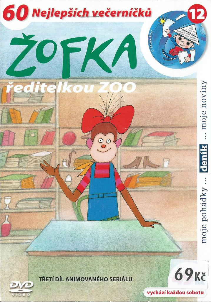 DVD Žofka ředitelkou ZOO