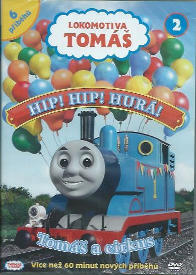 DVD Lokomotiva Tomáš 2 - Hip! Hip! Hurá! Tomáš a cirkus