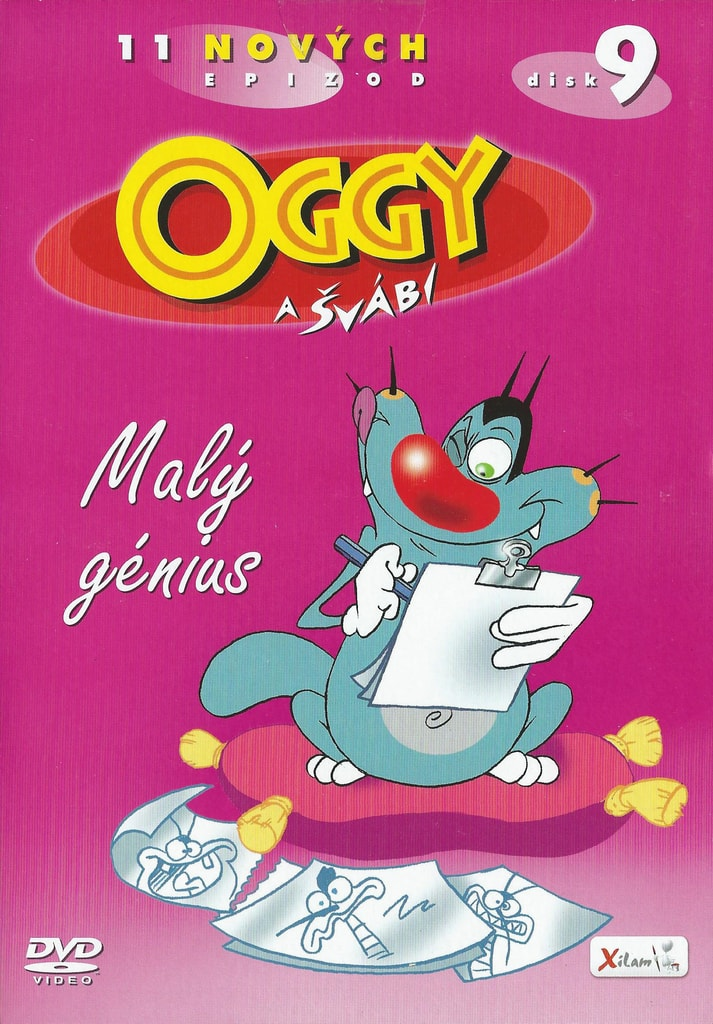 DVD Oggy a švábi 9 - Malý génius
