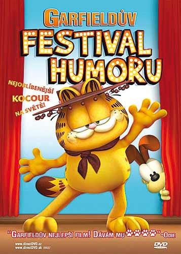 DVD Garfieldův festival humoru