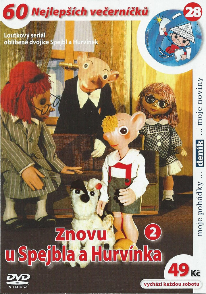 DVD Znovu u Spejbla a Hurvínka 2