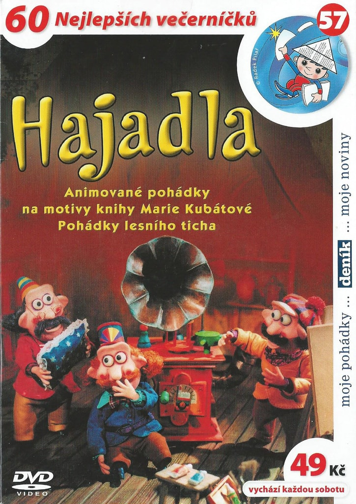 DVD Hajadla