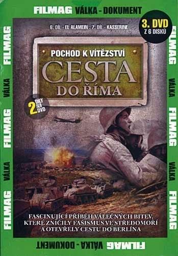 DVD Pochod k vítězství - Cesta do Říma 3