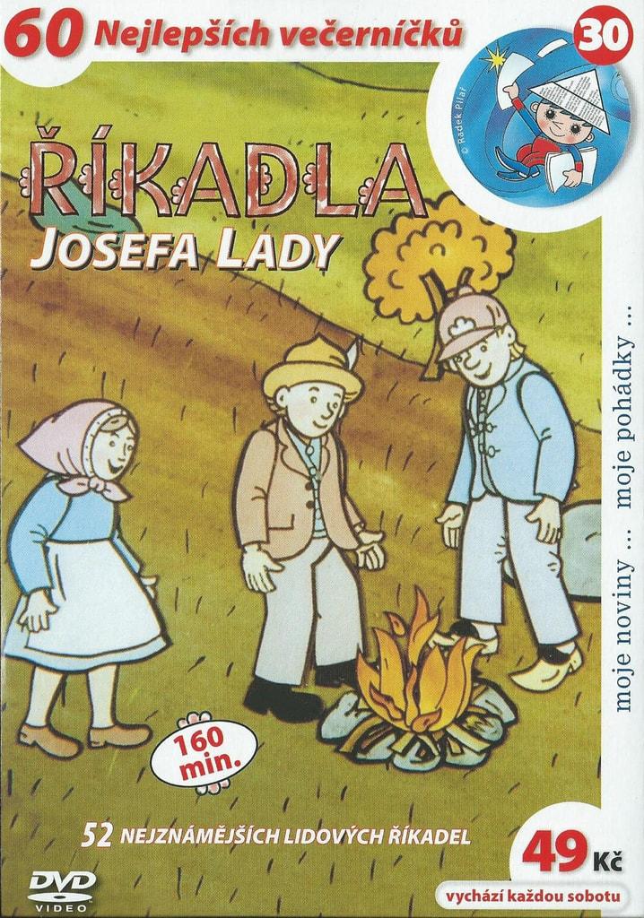 DVD Říkadla Josefa Lady