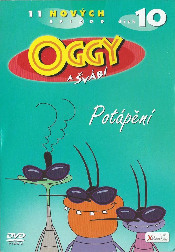 DVD Oggy a švábi 10 - Potápění