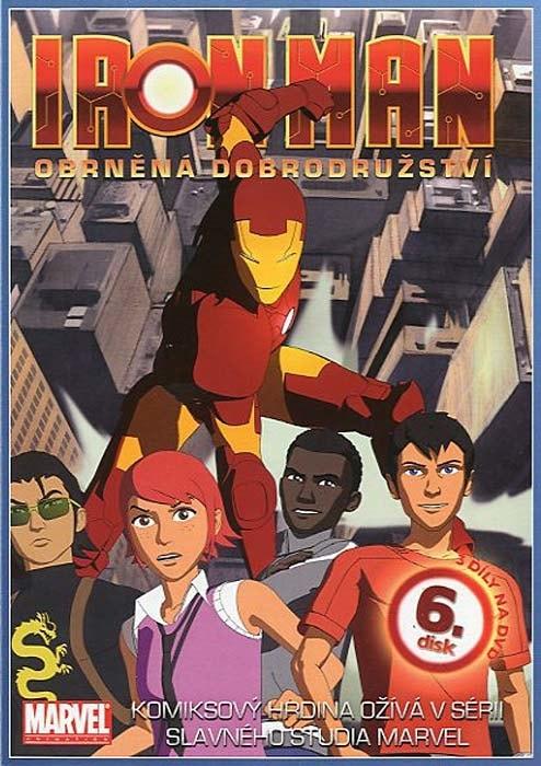 DVD Iron Man 6