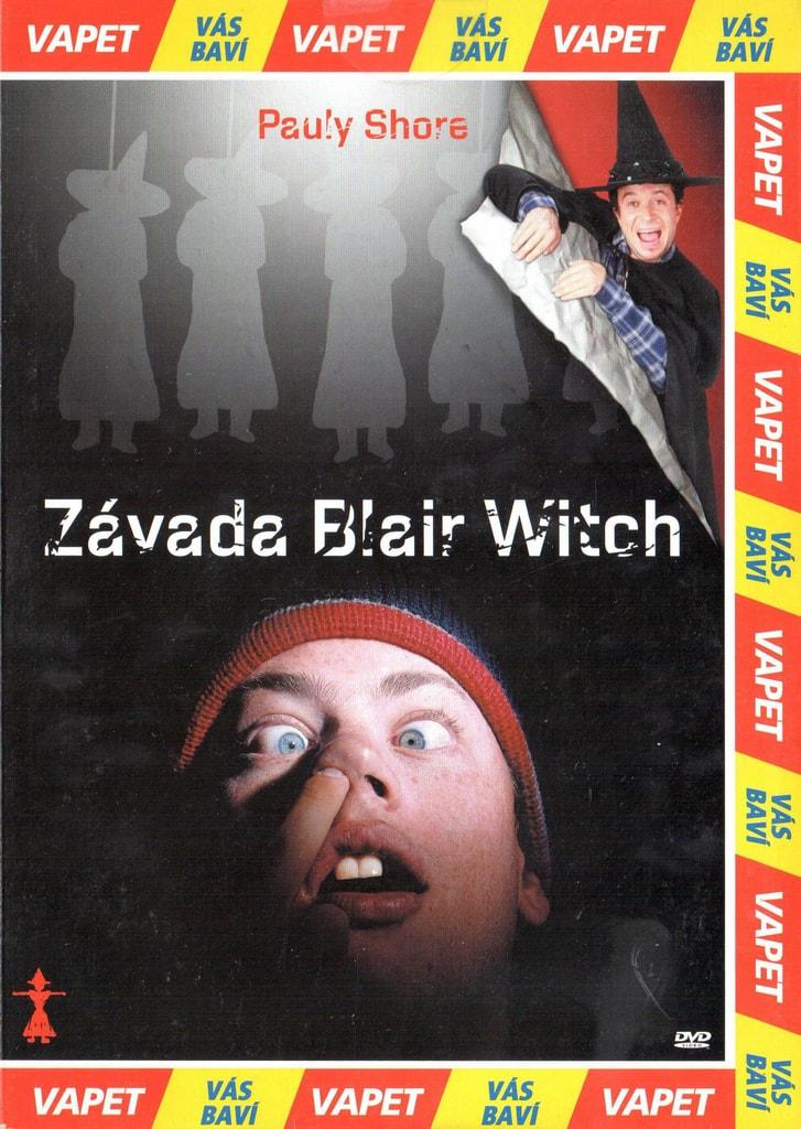 DVD Závada Blair Witch