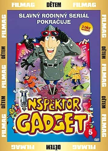 DVD Inspektor Gadget 5
