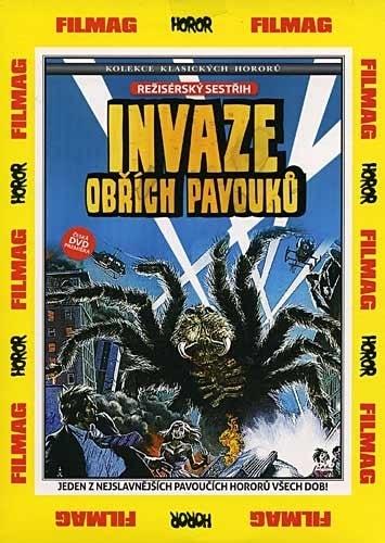 DVD Invaze obřích pavouků