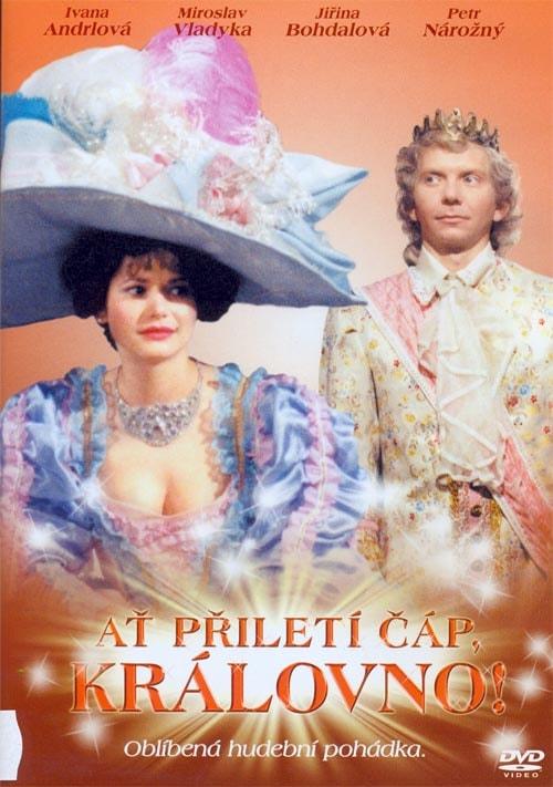DVD Ať přiletí čáp, královno!