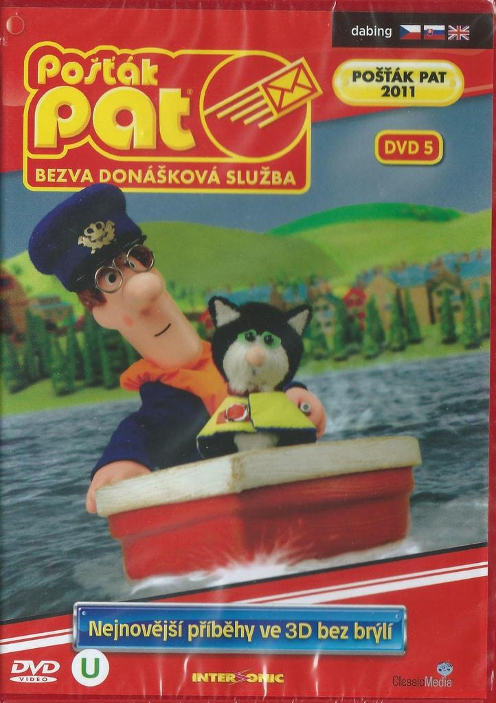 DVD Pošťák Pat - Bezva donášková služba DVD 5
