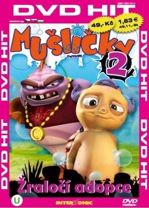 DVD Mušličky 2