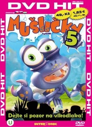 DVD Mušličky 5