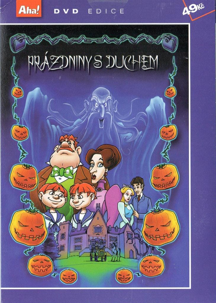 DVD Prázdniny s duchem