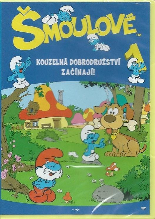 DVD Šmoulové 1