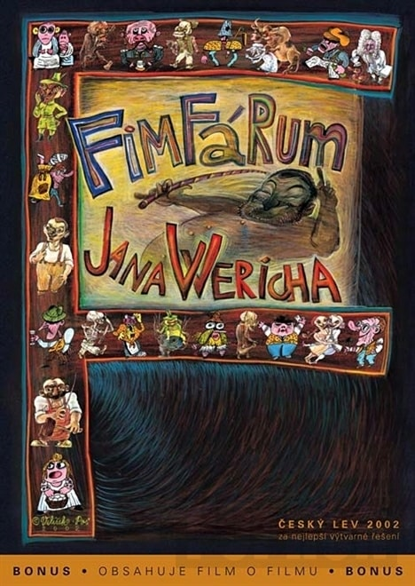 DVD Fimfárum Jana Wericha