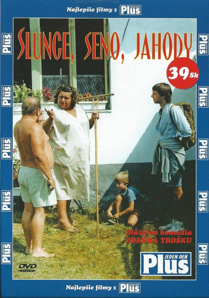 DVD Slunce, seno, jahody