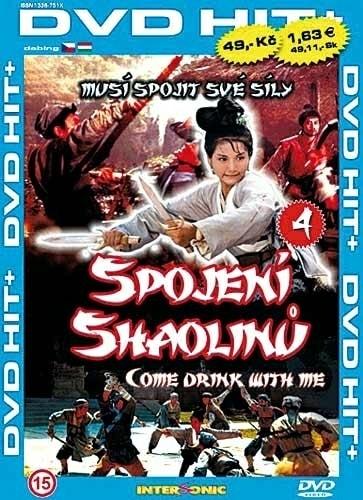 DVD Shaolin 4 Spojení Shaolinů