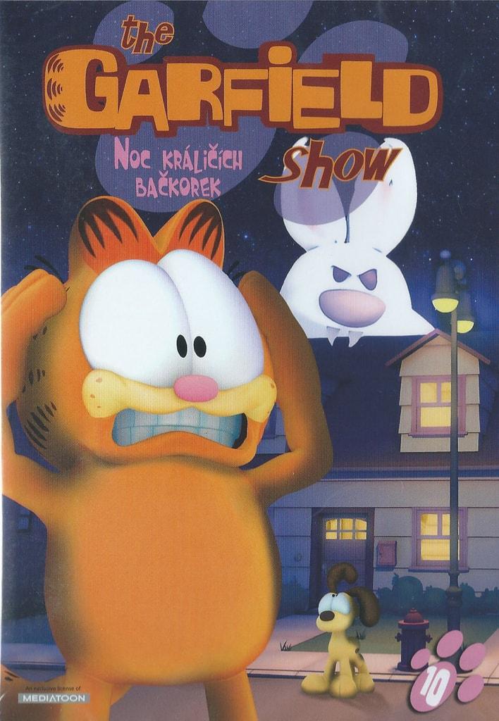 DVD The Garfield show 10 - Noc králičích bačkorek
