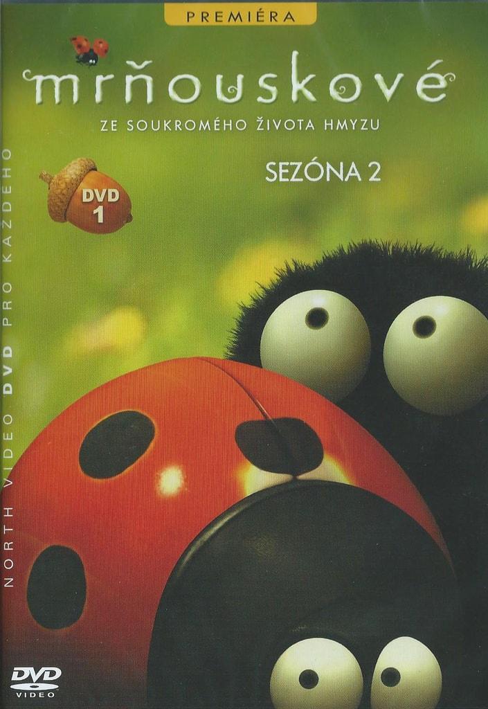 DVD Mrňouskové 1