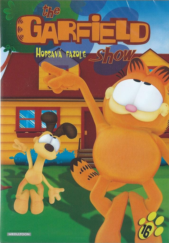 DVD The Garfield show 16 - Hopsavá fazole