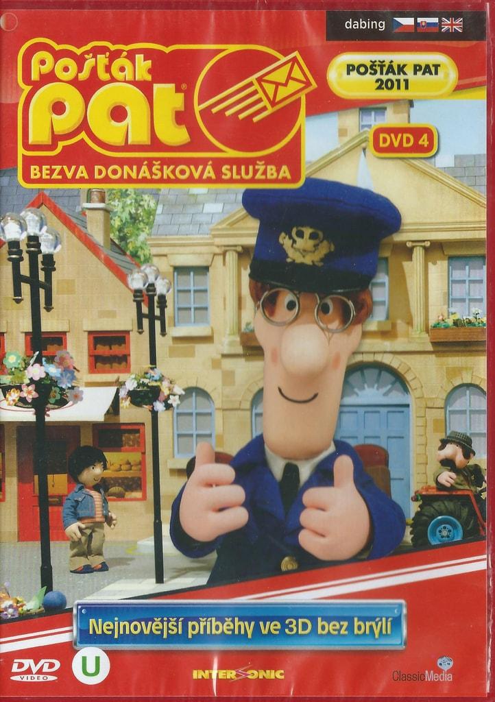DVD Pošťák Pat - Bezva donášková služba DVD 4