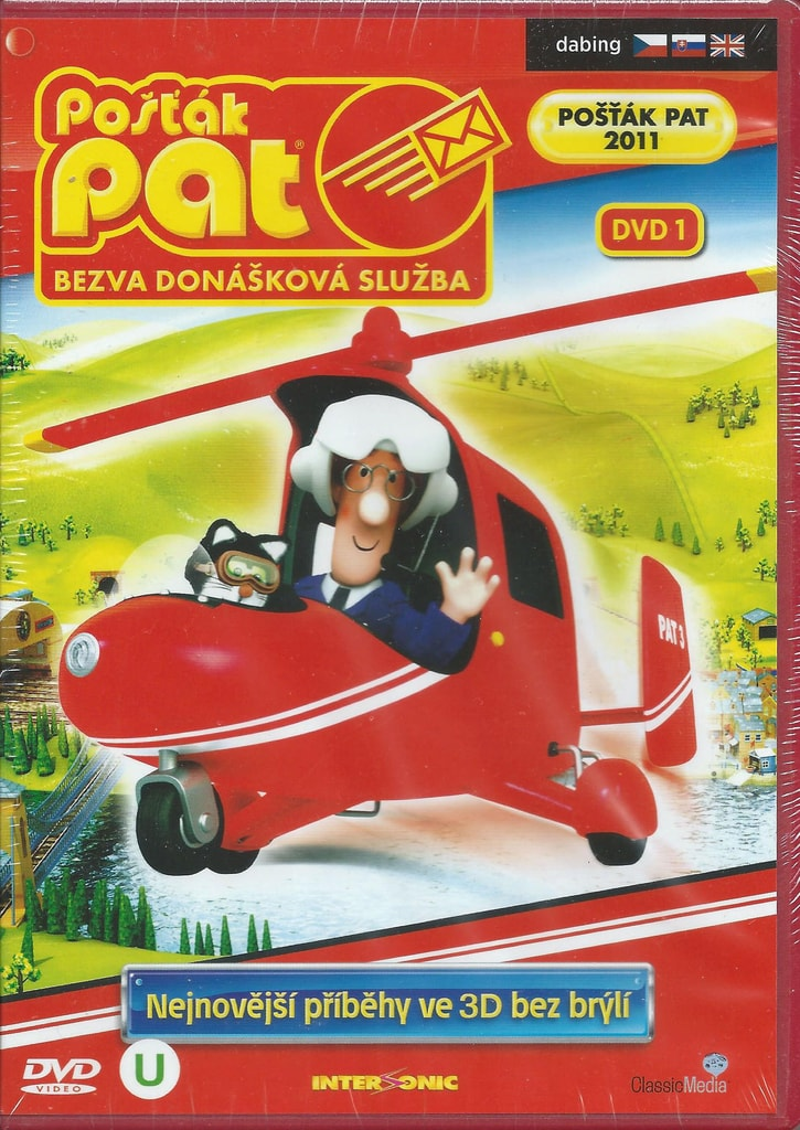 DVD Pošťák Pat - Bezva donášková služba DVD 1