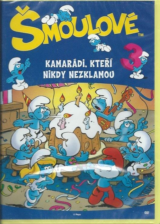 DVD Šmoulové 3