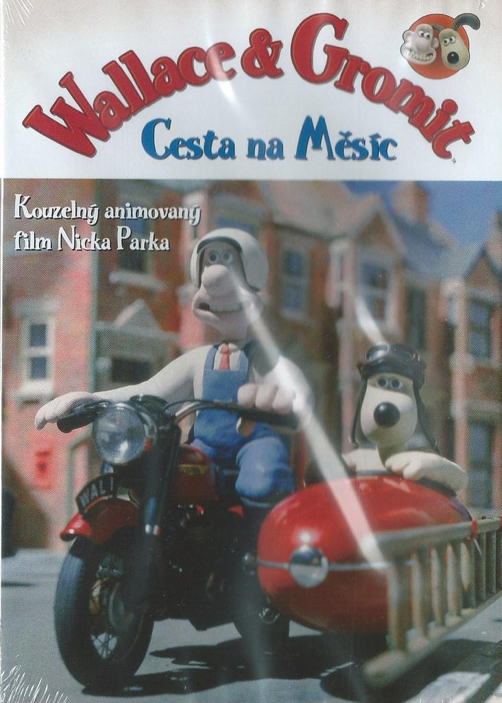 DVD Wallace a Gromit: Cesta na Měsíc