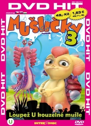 DVD Mušličky 3