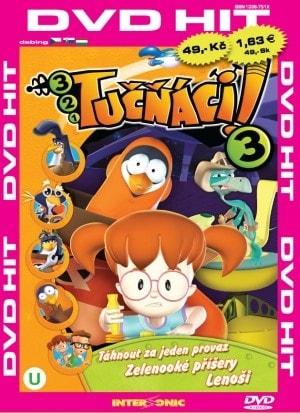 DVD Tučňáci 3