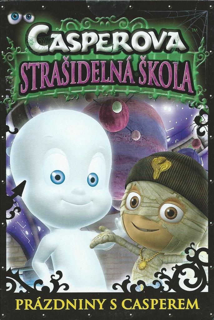 DVD Casperova strašidelná škola - Prázdniny s Casperem (box)