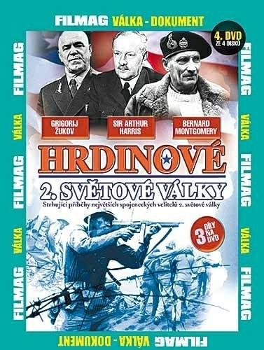 DVD Hrdinové 2. Světové války 4