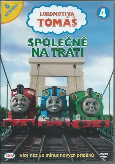 DVD Lokomotiva Tomáš 4 - Společně na trati
