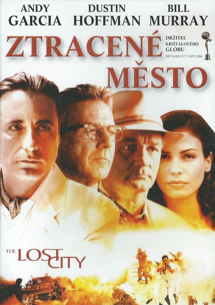 DVD Ztracené město