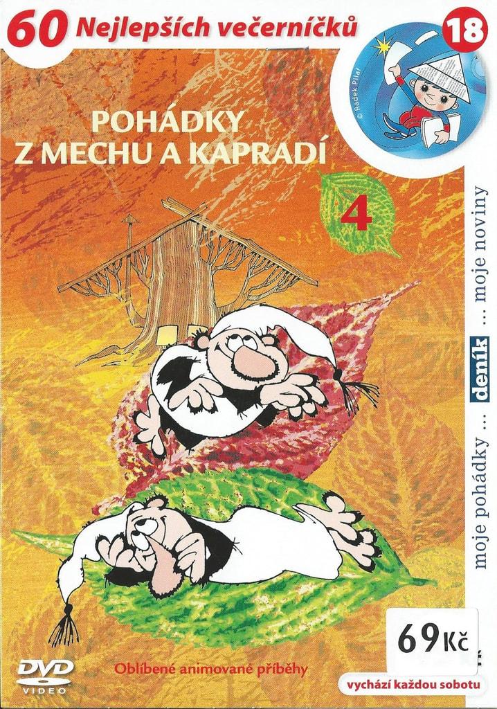 DVD Pohádky z mechu a kapradí 4