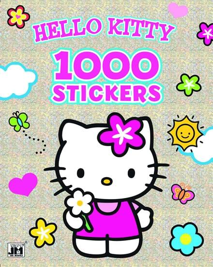 Omalovánky Hello Kitty 1000 samolepek