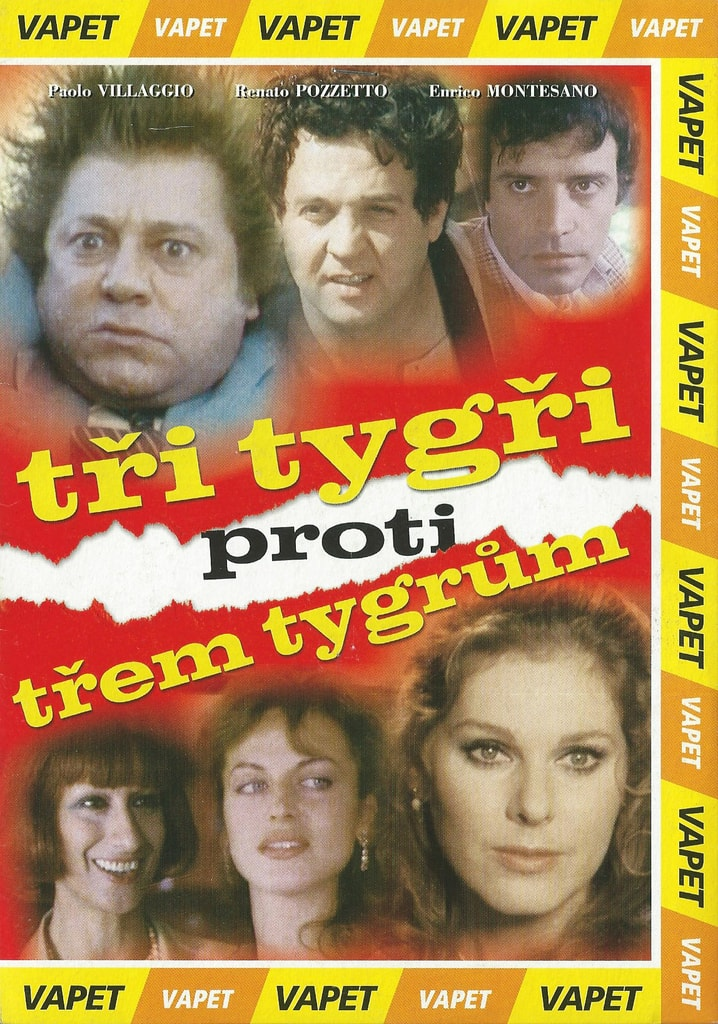 DVD Tři tygři proti třem tygrům