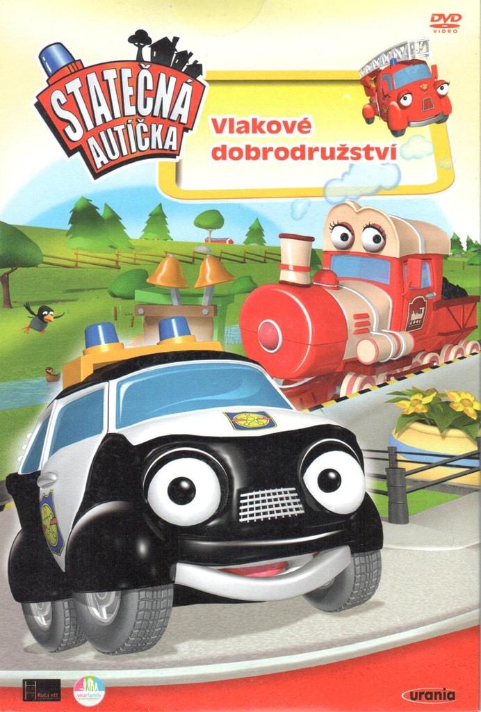 DVD Statečná autíčka - Vlakové dobrodružství