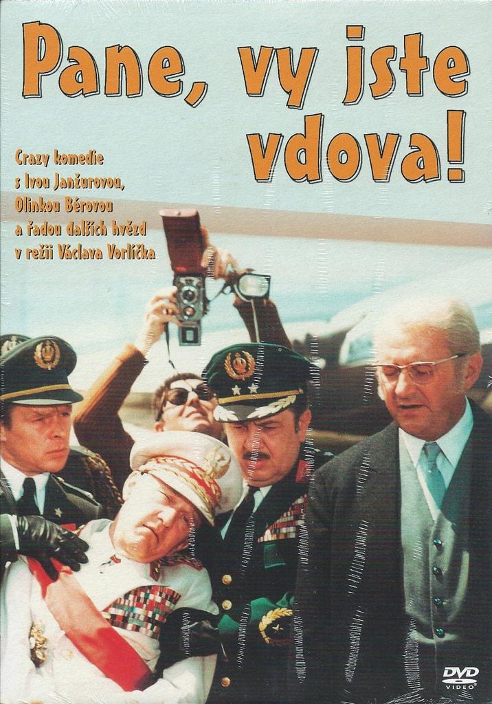 DVD Pane, vy jste vdova!