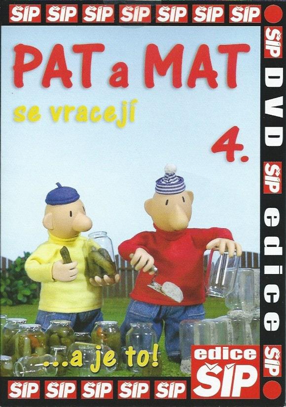 DVD Pat a Mat 4