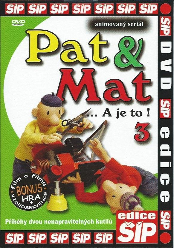 DVD Pat a Mat 3