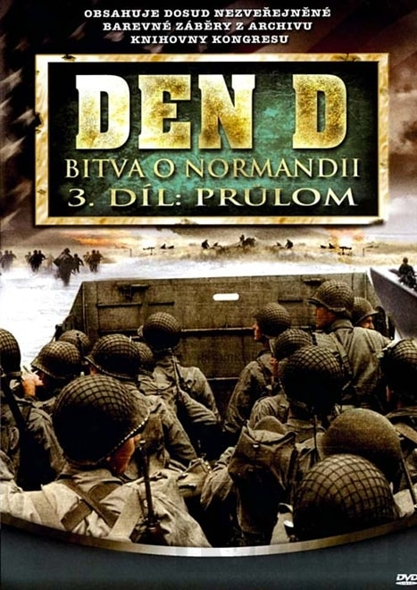DVD Den D: Bitva o Normandii 3 (Slim box)