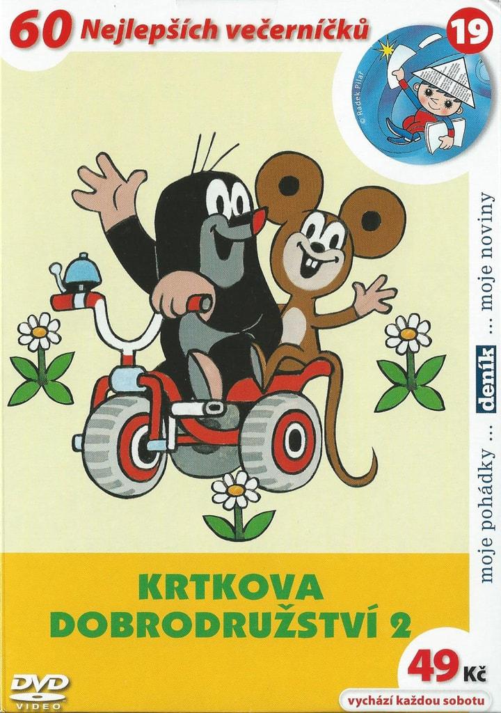 DVD Krtkova dobrodružství 2