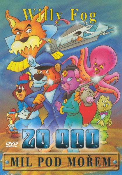 DVD Willy Fog - 20000 mil pod mořem 1