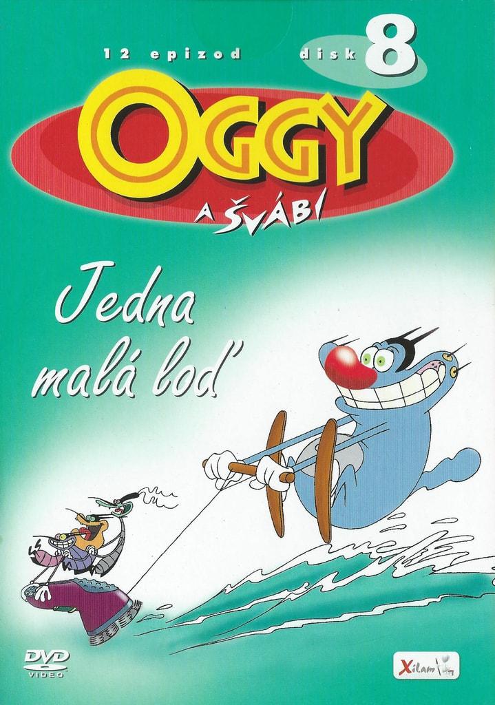 DVD Oggy a švábi 8 - Jedna malá loď