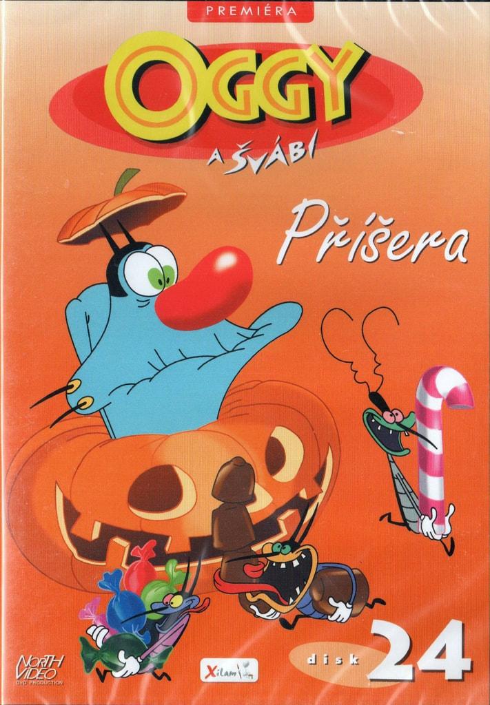 DVD Oggy a švábi 24 - Příšera